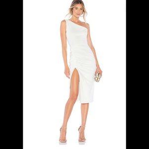 Katie may new age crepe midi dress